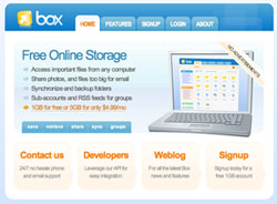 box.net screengrab