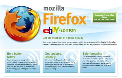 Firefox Ebay Edition